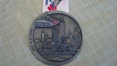 Chicago Marathon 2012 Finisher Medal - 10-7-2012, 4:00:22, 9:10 pace