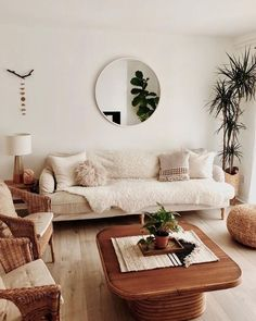 7 Gifted Simple Ideas: Minimalist Home Dark Black minimalist decor white bedrooms.Minimalist Home Dark Black minimalist living room decor bed frames.Minimalist Living Room With Kids Lamps. Cozy Living Rooms, Living Room Interior, Home Living Room, Living Spaces, Plants For Living Room, Bohemian Living Rooms, Earthy Living Room, Bright Living Room Decor, Small Room Interior