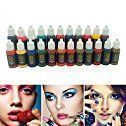 Amazon.com: Wholesale 10pcs permanent BaodeLi Makeup tattoo ink pigment 15ml/bottle for eyebrow make up Permanent body makeup lip ink tattoo machine beauty tools: Kitchen & Dining #eyebrows
