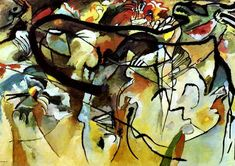 Inventing Abstraction: The First Big Leap.  Kandinsky is credited with creating and presenting the first pure abstract art work in 1911.  Blog series on the history of early Abstract Artists.