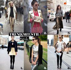 Schillernde Verführung an tristen Wintertagen Trends, Must Haves, Metallic, Fashion, Gold Jewellery, Moda, Fashion Styles, Fashion Illustrations, Beauty Trends