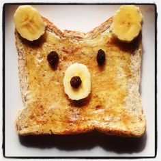Teddy Bear Toast by Happy Little Kiwi