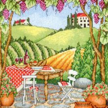 Gallery.ru / Все альбомы пользователя denise10 Cross Stitch Landscape, Cross Stitch Patterns, Painting, Crossstitch, Christmas, Blue Prints, Paint, Draw