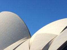 Sails of the Sydney Opera House.