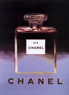 Chanel No. 5 (Black and Purple) by Andy Warhol (1985)