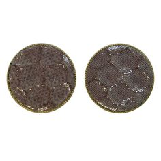 earring button  python 20 mm