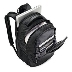Discover the a slick business backpack from Samsonite. Constructed with ballistic fabric for durability. Shop travel backpacks at Samsonite today! Best Laptop Backpack, Black Backpack, Travel Backpack, Laptop Bag, Travel Bags, Business Laptop, Chores For Kids, Backpack Brands, Backpacks