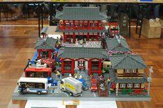 Lego Japanese Building