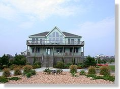 Twiddy Outer Banks Vacation Home - Beauty And The Beach - Corolla - Semi-Oceanfront - 8 Bedrooms