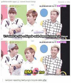 Taehyung, you got no chance... XD