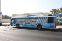 Bus Wrap designed for Kraft in Dubai to promote Philadelphia Cheese