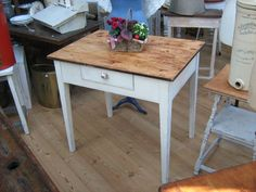 Frankfurter Tisch 60x80cm - Esstisch klein von HolzArt auf DaWanda ...