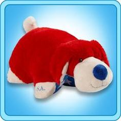 A super-soft chenille plush folding stuffed animal. So cuddly you'll never want to put it down! Starts out as your pal, then un-velcro its belly, and it quickly becomes your pillow. Fancy Houses, Large Pillows, Animal Pillows, Room Accessories, Pet Dogs, Pup, Dinosaur Stuffed Animal, Pillow Pets, Toys