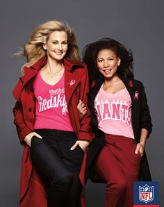 Rep your New York Giants and a great cause. 100% of the NFL's proceeds from Pink product sales go to the American Cancer Society.