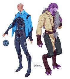 Jaal and Solas outfit swap