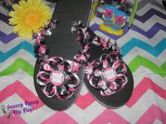 Perfectly Posh Flip Flops  this listing is by SnazzyDazzyFlipFlops, $14.50