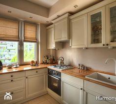 kafelki wokół okna w kuchni at DuckDuckGo Kitchen Cabinets, Studio, Home Decor, Dom, Kitchen Ideas, Restaining Kitchen Cabinets, Homemade Home Decor, Kitchen Base Cabinets, Studios