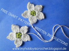 Chart for the Blackberry Flower with Tutorial