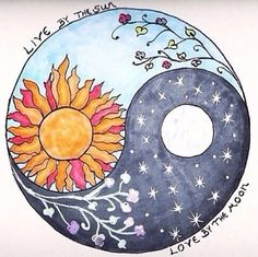 live by the sun love by the moon mandala