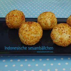 Indonesische Sesambällchen