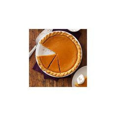 Maple Sugar Pumpkin Pie Recipe ❤ liked on Polyvore featuring home, kitchen & dining, cookbooks and recipe cookbook