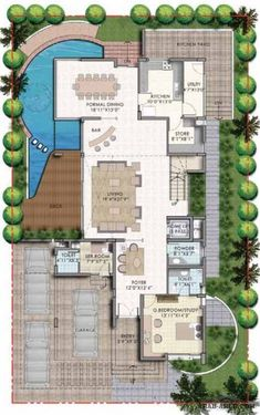 فيلا 3 طوابق 527.47 sq. m المبانى
