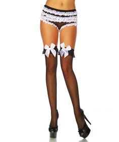 Halterlose Damen Netz Strümpfe Stockings Strapsstrümpfe Sexy Spitze Nylons