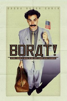 You telling me the man who try to put a rubber fist in my anus was a homosexual? -Borat