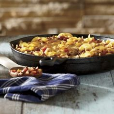 Burger Skillet Casserole—from Gooseberry Patch