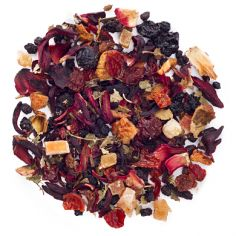 Bear Trap is a fruit-based herbal tea made with blackberries, strawberries and raspberries. This tea is full of them. Bear Trap, Davids Tea, Buy Tea, Fruit Tea, My Cup Of Tea, Tea Accessories, Loose Leaf Tea, Herbal Tea, Iced Tea