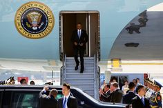 Photo               President Obama arriving in Hangzhou, China, on Saturday. There were arguments at the airport between White House aides and Chinese security officials who tried to keep back reporters.                                      Credit             Damir Sagolj/Reuters              ...
