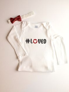 A personal favorite from my Etsy shop https://www.etsy.com/listing/261715941/baby-girl-valentines-day-onesie-and-bow