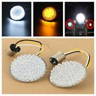 "♮≥ #LED Turn #Signal Inserts 2"" BULLET Style For #Harley Davidson Softail Dy... http://ebay.to/2j7FHQ9"