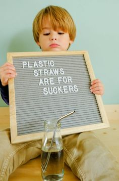 Plastic straws are among the top 5 items collected on beaches each year. Let's do our part in decreasing waste by swapping out plastic straws for reusable varieties. Small adjustments to affect big change. Open Quotes, Happy Quotes, Inspirational Quotes, Recycling Quotes, Sustainability Projects, Partner Reading, Earth Quotes, Giving Quotes, Trash Art