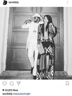 What breakup? Diddy and Cassie spend New years eve together