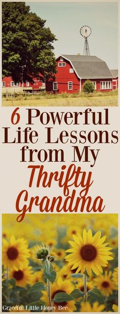 6 Powerful Life Lessons Learned from my Thrifty Grandma
