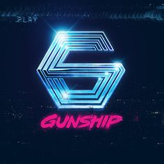 I designed a logo for music group GUNSHIP. Heavy on the chrome. Heavy on the Cannon.