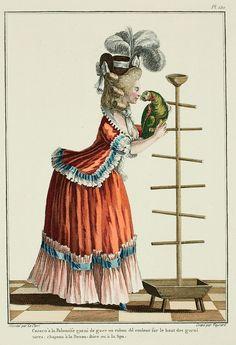 Elegant Woman in a Caraco  a la Polonaise  and a hat  a la Devonshire  e7e3917c94c5