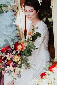 Bright floral nomadic wedding inspiration in Edna Valley