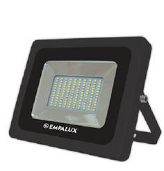 REFLETOR LED SLIM BIVOLT 10W 5.500K - EMPALUX (COD.RL35035)