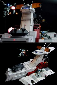 1/144 Diorama Nahel Argama (Scratch build) w/Full Leds: Work by odokevyo FULL Photoreview Hi Res Images, WIP too http://www.gunjap.net/site/?p=213408