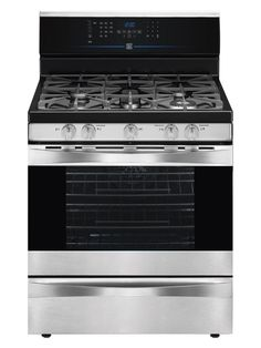The Kenmore Elite is a great choice for stovetop cooking and baking.