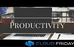 10 Ways to Productivity - Weekly blog post!  #smallbiz  #productivity #success