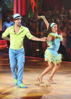 Mark Ballas and Aly Raisman  -  Dancing With the Stars  -  season 16  -  spring 2013  -  placed 4th for the season