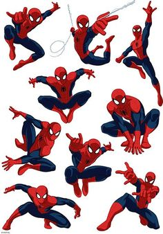 Buy the Spiderman Character Sheet available in Spiderman Pinata, Spiderman Poses, Spiderman Cake Topper, Spiderman Spider, Spiderman 2002, Character Sheet, Character Art, Character Design, Superhero Birthday Party