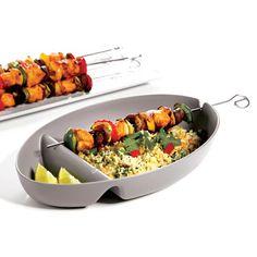 #BBQ BOWL #Grillspieß-Teller #arshabitandi #grillen