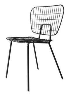 WM String Chair - Steel Black by Menu