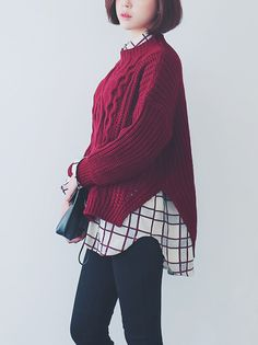 red sweater <3