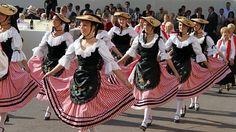 Monaco traditional costumes