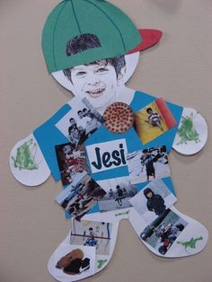 """For the first week of school to hang on our wall and decorate the schoolroom! Need magazines. """"My Favorites"""" Project"""